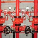 Water efficient fire protection systems