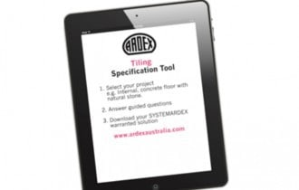 Ardex Launches Specification Tool