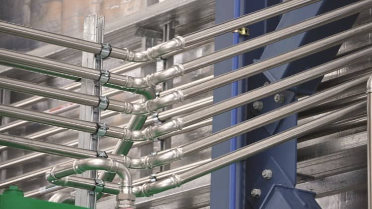 Stainless Steel Crimp Fittings Plumbing Connection