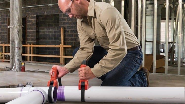 RIDGID® STRAPLOCK pipe handle