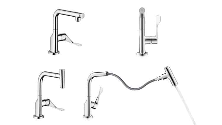 Gold for AXOR Citterio Select Kitchen Tap