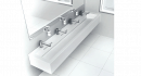 Corian and Dyson commercial solution