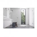 Soft close shower screens
