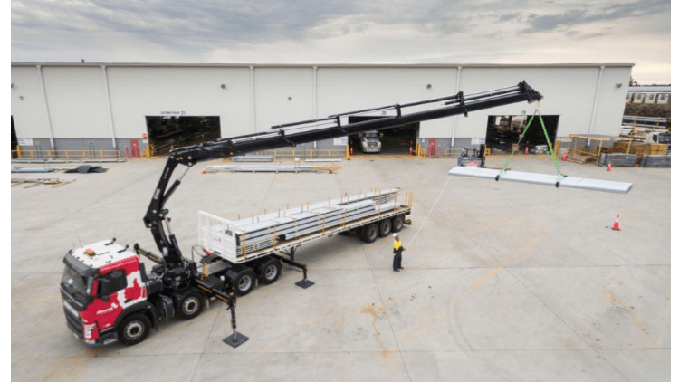 Crane to roof solution