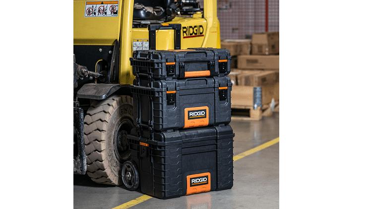 Ridgid Professional Tools storage set