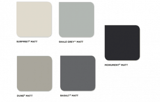 Colorbond launches new matte collection