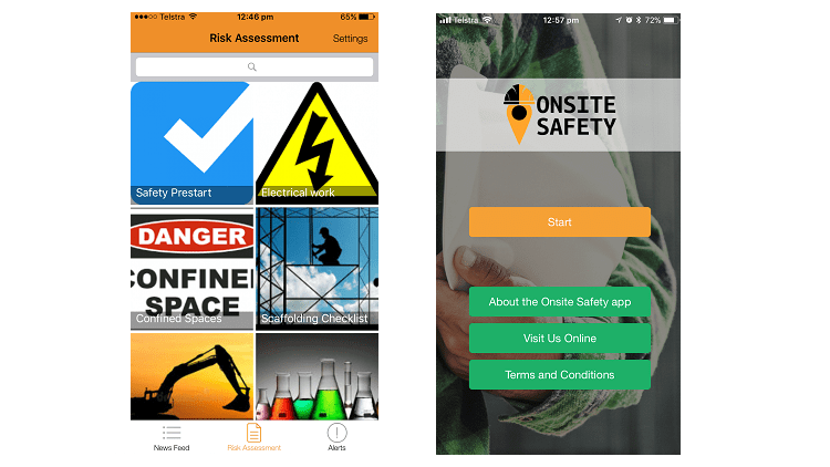 New app helps businesses keep workers safe on site