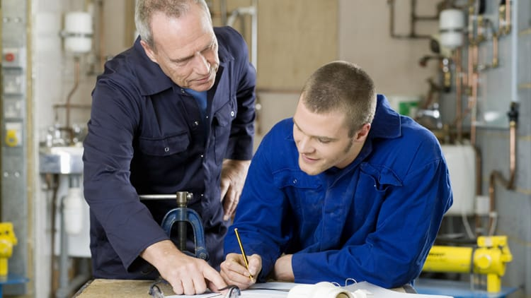 plumber apprentice