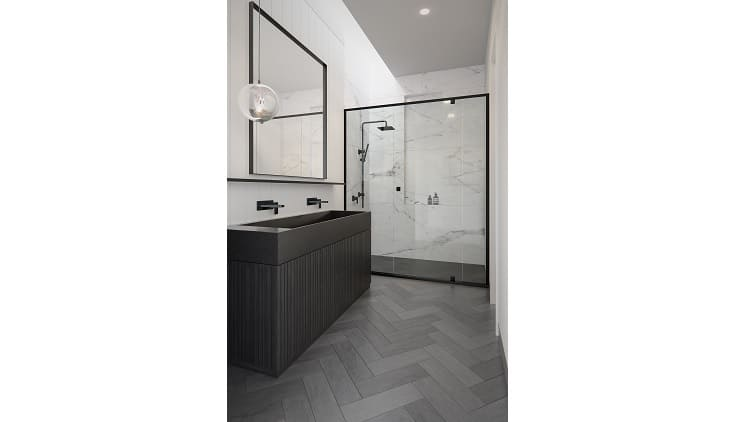 Mocochrome bathrooms