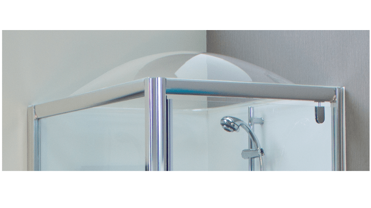 Showerdome Australia showcases its steam free bathroom solution