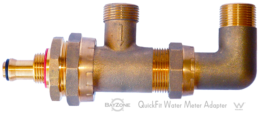Quick Fit Water Meter Adapter (QFWMA)  sc 1 st  Plumbing Connection & Quick Fit Water Meter Adapter (QFWMA) u2013 Plumbing Connection