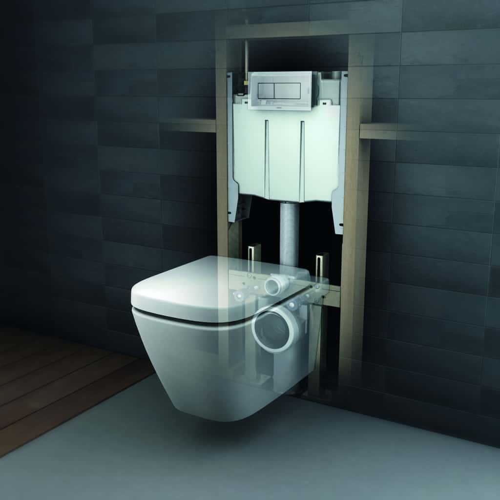 Wall Hung Dual Flush Toilet